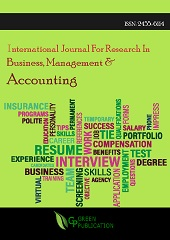 International Journal For Research In Business, Management And Accounting (ISSN: 2455-6114)