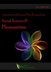 International Journal For Research In Social Science And Humanities (ISSN: 2208-2697)