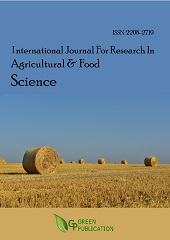 International Journal For Research In Agricultural And Food Science (ISSN: 2208-2719)