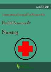 International Journal For Research In Health Sciences And Nursing (ISSN: 2208-2670)